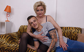 Naughty Housewife Fuck-fest With Her Youthfull Lover