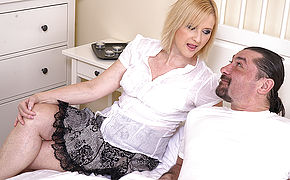 Mischievous Housewifewife Banging With Her Stud