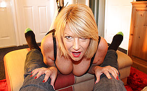 Horny Mature Amy Gives A Oral Pleasure In Point Of Sight Style