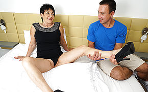 Kinky Mature Dame Getting Ravaged By Her Toy Boy