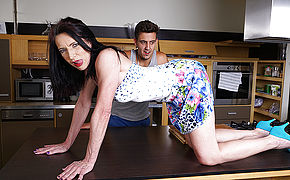 Super-naughty Housewife Boning Her Toy Guy