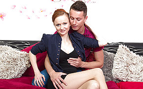 Torrid Hot Housewife Porking Her Younger Lover