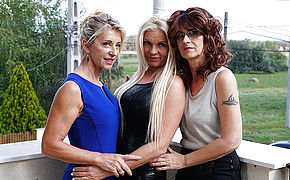 Trio Kinky Lesbo Housewives Go Insatiable