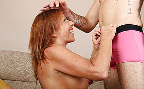 British Housewife Blows Her Young Lover And Gets Fucked Hard