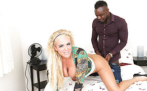 Kinky Blonde Milf Get Fucked In The Ass By Her Black Boyfriend