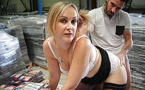 Sexy French Milf Is Fucked In Her Pussy And Up Her Ass
