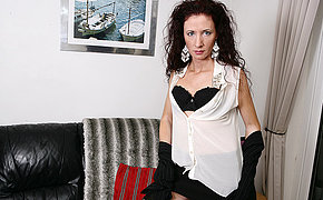 Stunning Milf Tugging Herself