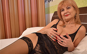 Scorching Cougar Cockslut Getting All Filthy