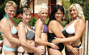 Five Teen And Old Bi Go Xxx At The Pool