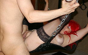 Wonderful Wife Drilled In The Basement Space