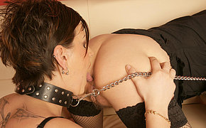 Milf Woman Gets A Trio Way Inward Orgasm In Her Face