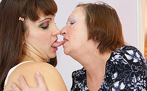 Perverse Female Getting Scorching With A Granny