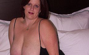 Huge-boobed Mother Receive Jism Shot And Splashes