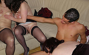 Vicious Aged Lady On A Hookup Party Getting Saucy