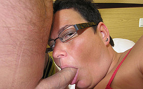 Chunky Female Enjoys A Thick Shaft