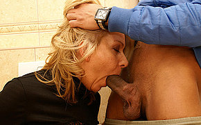 She Tongues Butt Fucks And Portion Inhale Off On A Public Bathroom