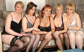 Welcome To A Fabulous Mature And Nubile All Girl Sex