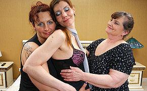 3 All Girl Cougars Get Horny And Trampy