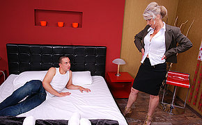 Fur Covered Milf Boinking Her Nubile Bf